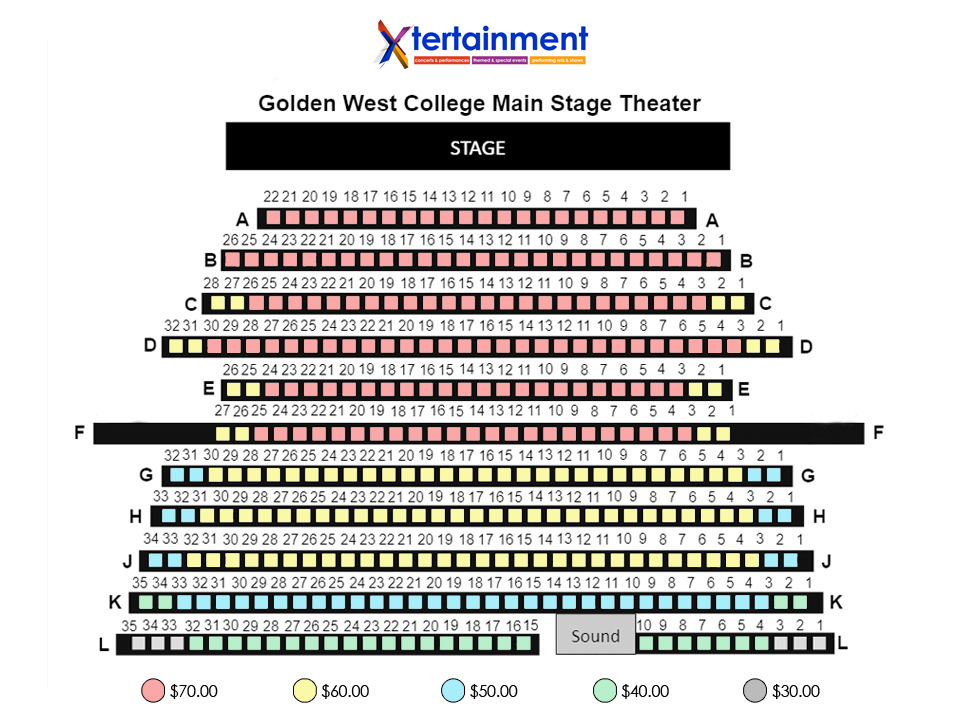 San Diego Seating Chart